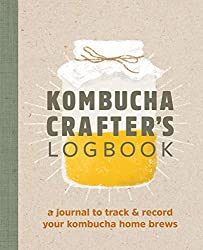 Buch Kombucha Crafters Logbook Angelica Kelly