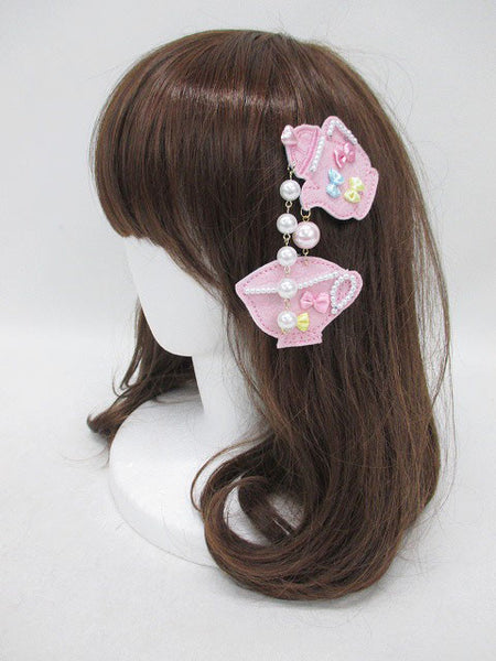 Teatime Badge/Hair accessory