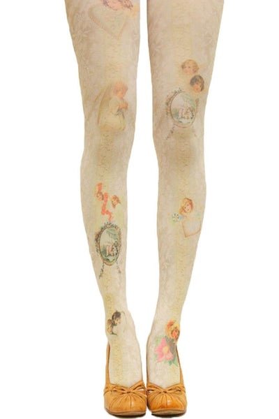 Grimoire Verum Un Ange Tights