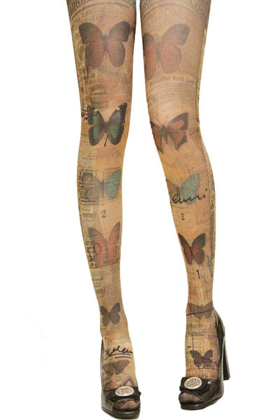 Grimoire Verum Collection du Papillon Tights