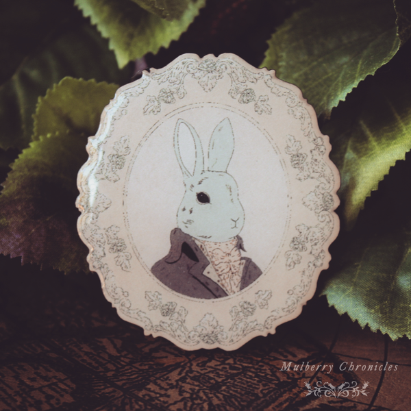 Portrait of The Rabbit Scholar
