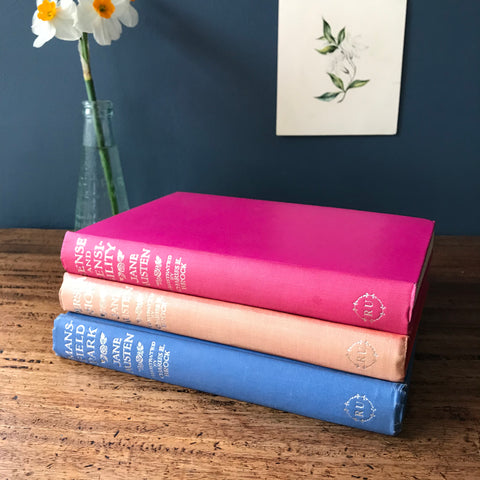 Jane Austen collection of novels from the 1950s