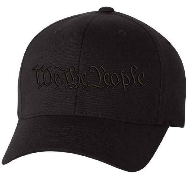 We The People ONLY Flex Fit 6277 Embroidered Low Profile Hat - Various Colors - Powercall Sirens LLC