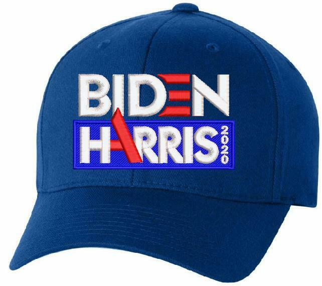 "Joe Biden Kamala Harris For President 2020 Embroidered ""High A"" Flex Fit Hat - Powercall Sirens LLC"