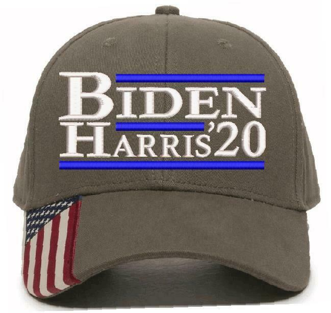 Joe Biden Kamala Harris For President 2020 USA300 BH20 Biden Embroidered Hat - Powercall Sirens LLC
