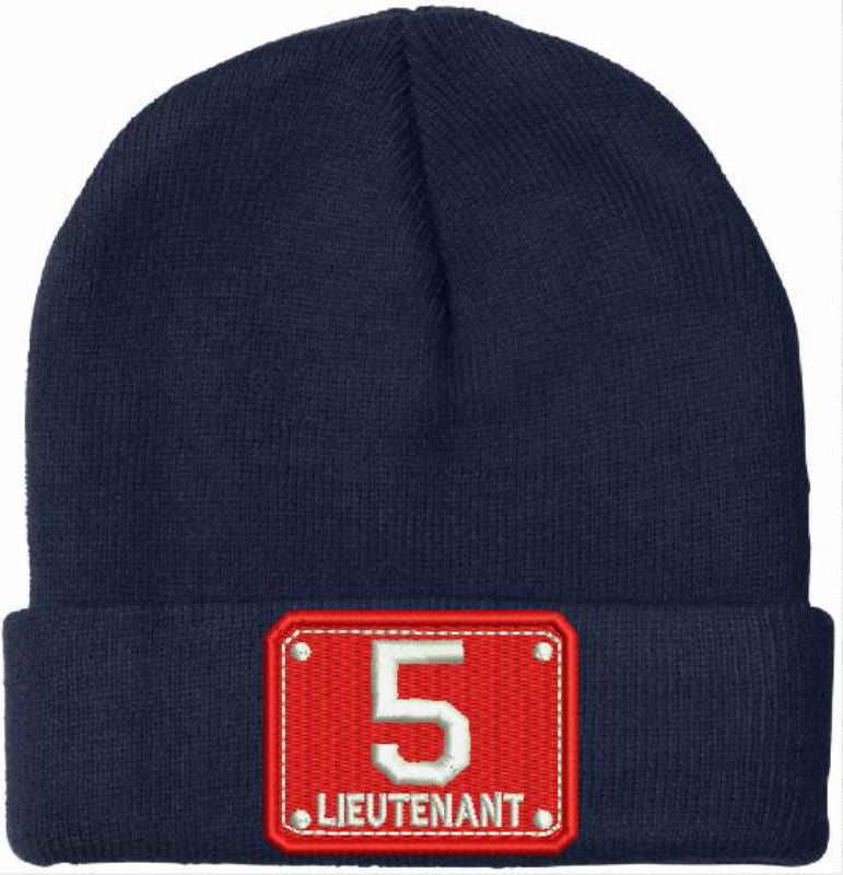 11 Badge (Red/white) Embroidered Winter Hat