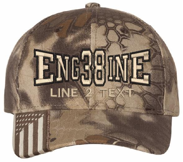 Engine 38 Style Highlander Embroidered Hat - Powercall Sirens LLC