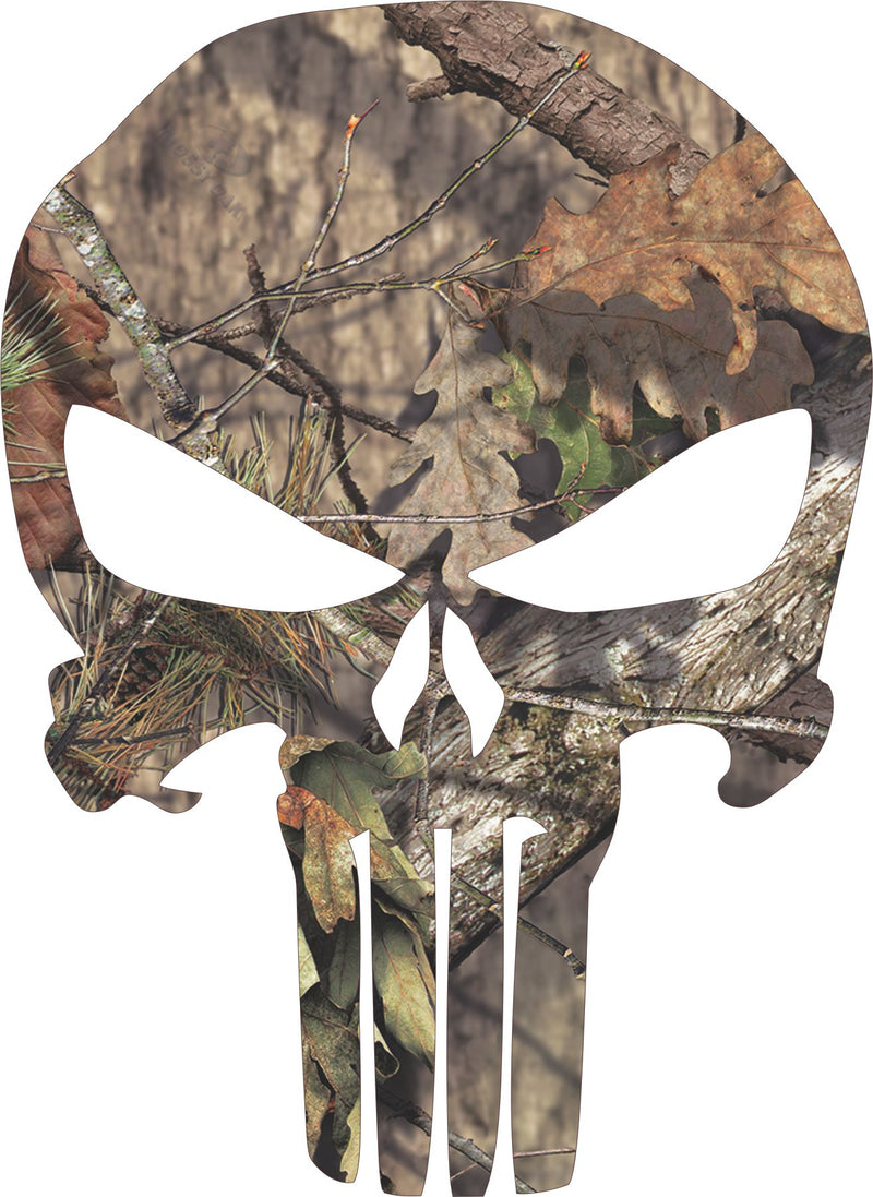 Mossy Oak Punisher Window / Hard Hat Decal - Powercall Sirens LLC