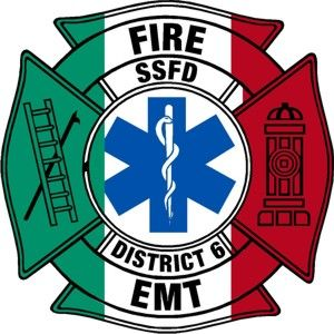 SSFD EMT Customer Decal - Powercall Sirens LLC