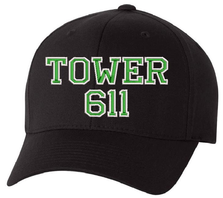 Sterling Fire TOWER 611 Custom Hat Design - Powercall Sirens LLC