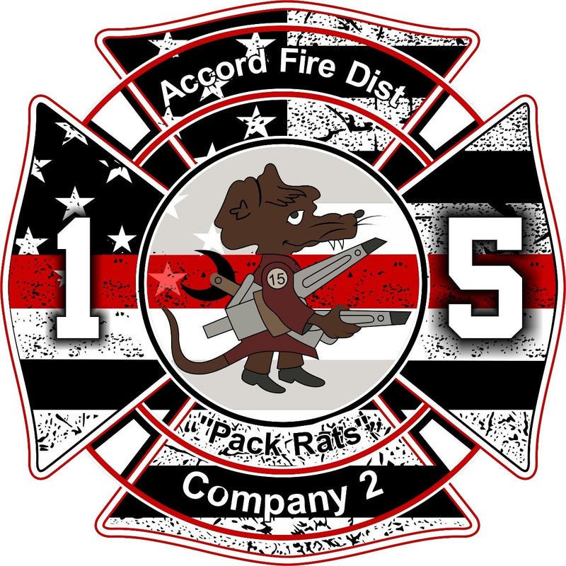 Accord Fire District Customer Decal - Powercall Sirens LLC