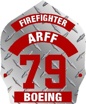 Airport Rescue Firefighter Decal