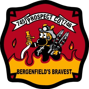 Bergenfield Fire Customer Decal