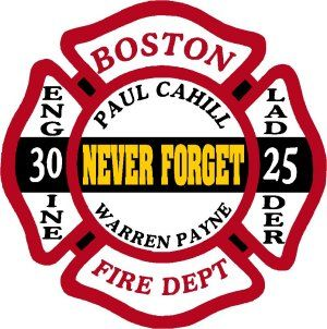 Boston Never Forget Memorial Decal - Powercall Sirens LLC