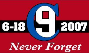 Charleston Red Line Memorial Sticker - Powercall Sirens LLC