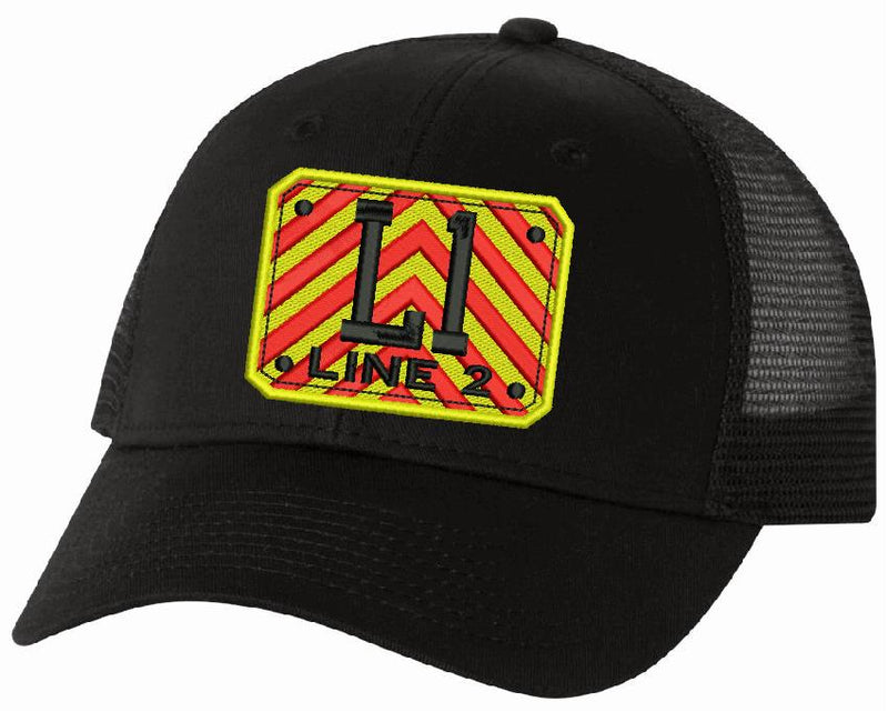 Adjustable Chevron Badge Style Custom Embroidered Hat