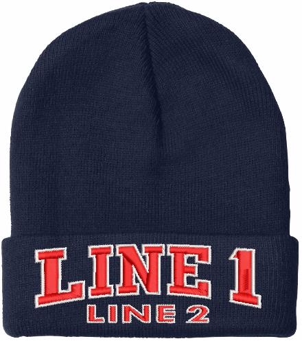 Chicago Style Embroidered Winter Hat - Powercall Sirens LLC