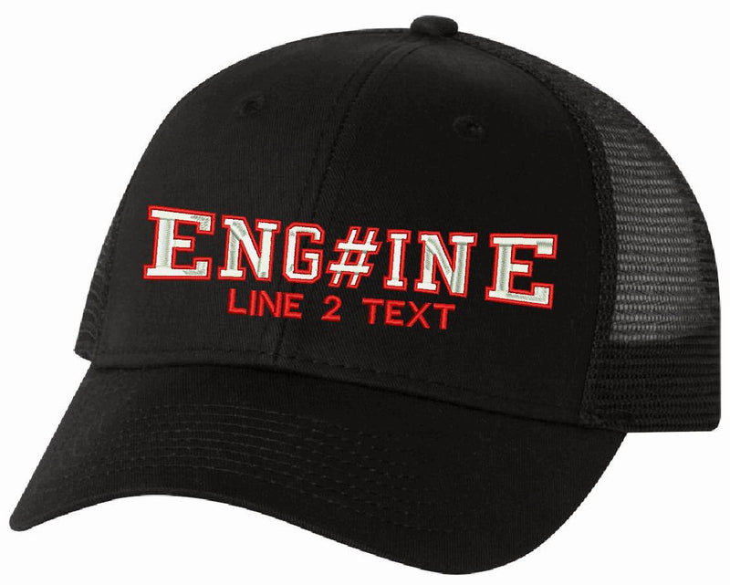 Adjustable Fire Style Custom Embroidered Hat Design