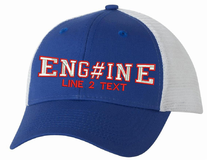 Trucker VC400 Adjustable Engine Style Hat - Powercall Sirens LLC