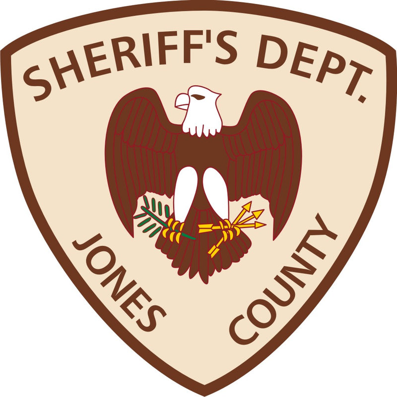 Jones County Sheriff's Customer Decal