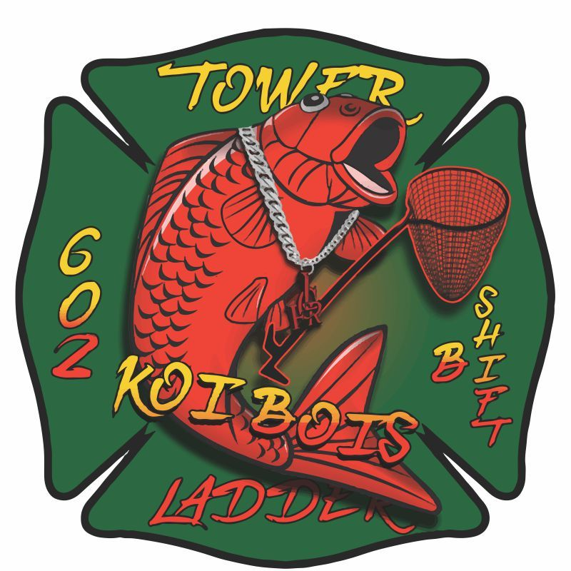 Tower Ladder 602 Customer Decal - Powercall Sirens LLC