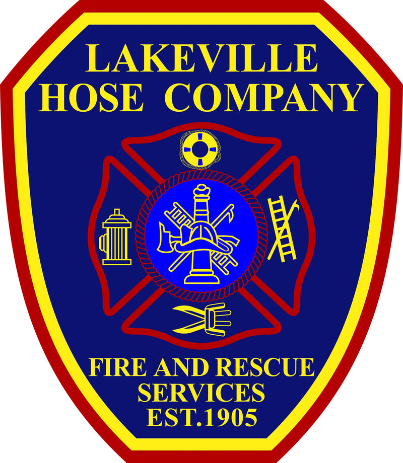 Lakeville Hose Company Customer Decal - Powercall Sirens LLC