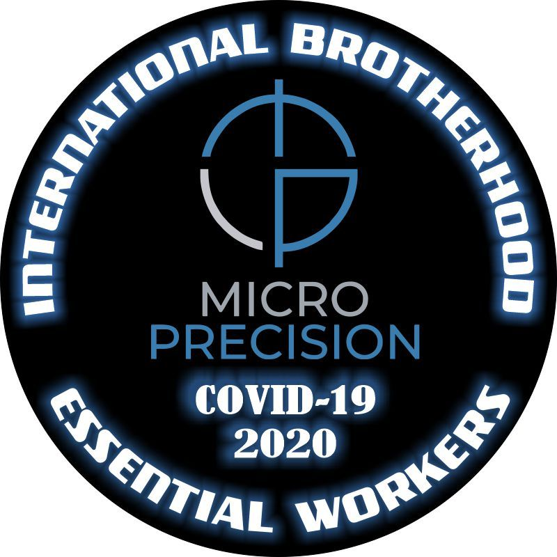 Micro Precision Worker Customer Decal - Powercall Sirens LLC