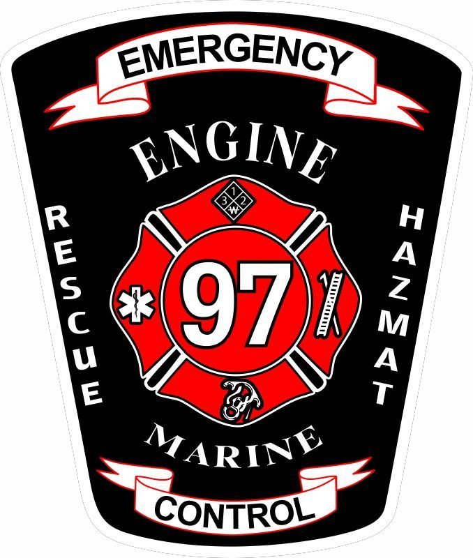 Emergency Control 97 Customer Decal - Powercall Sirens LLC