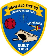 Newfield fire Company Custom Sticker