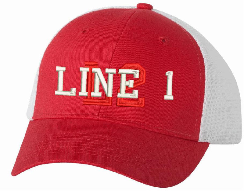 Trucker VC400 Adjustable Overlay Style Hat - Powercall Sirens LLC