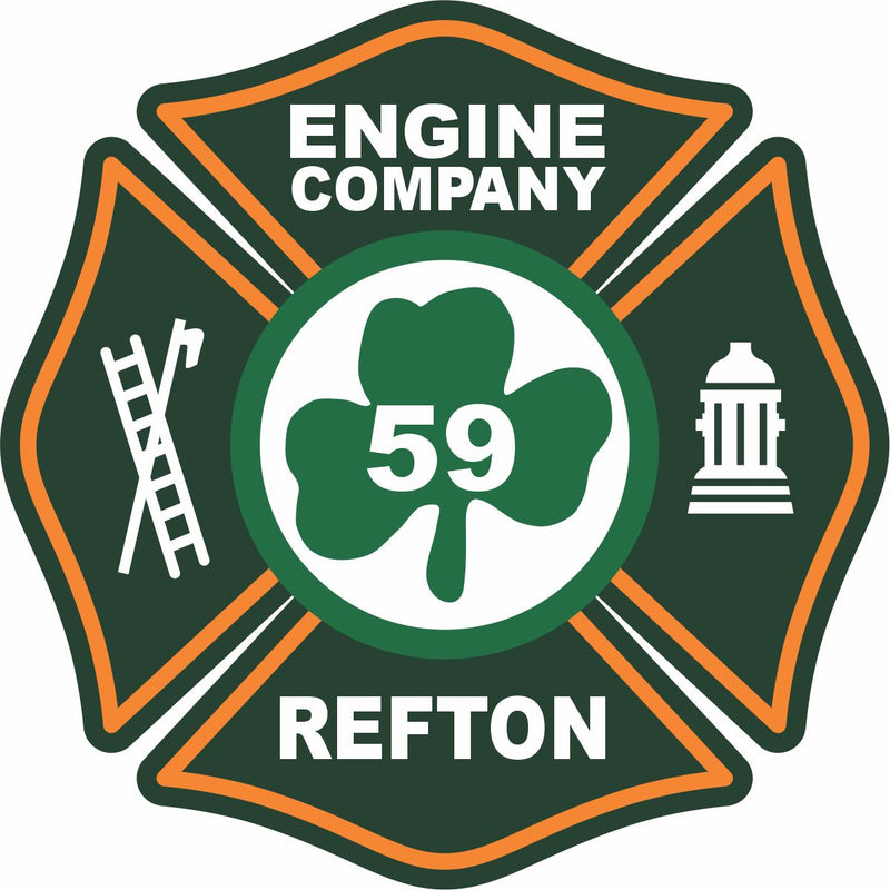 Refton Engine Company Customer Decal - Powercall Sirens LLC