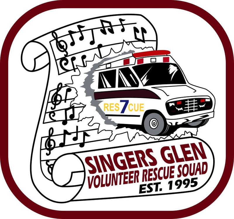 Singers Glen VFRS Customer Decal - Powercall Sirens LLC