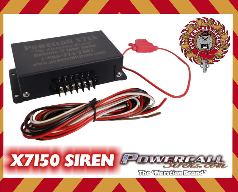 Powercall X7150 V.2 Single Tone Siren - Powercall Sirens LLC
