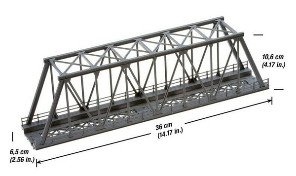 H0 1:87 escala Noch 21320 Puente Girder Bridge 36 x 10,6cm