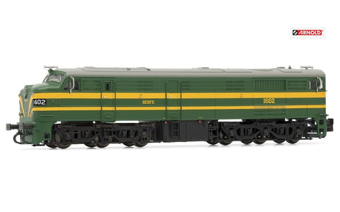 N 1:160 escala Arnold HN2409 locomotora diesel 316 RENFE locomotive trains