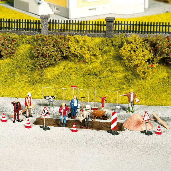 H0 escala 1:87 ho figuras modelismo Noch 14805 carreteras routes road set