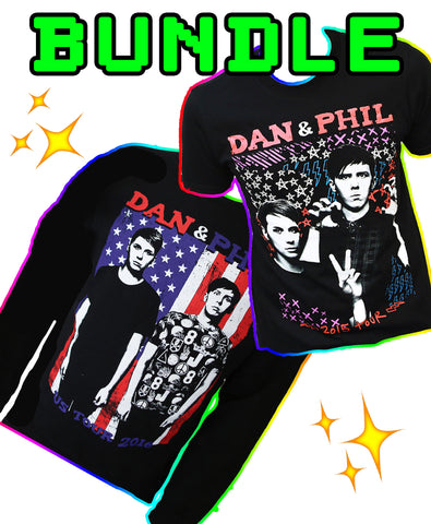 USA Tour sweater UK Tour T-Shirt *BUNDLE*