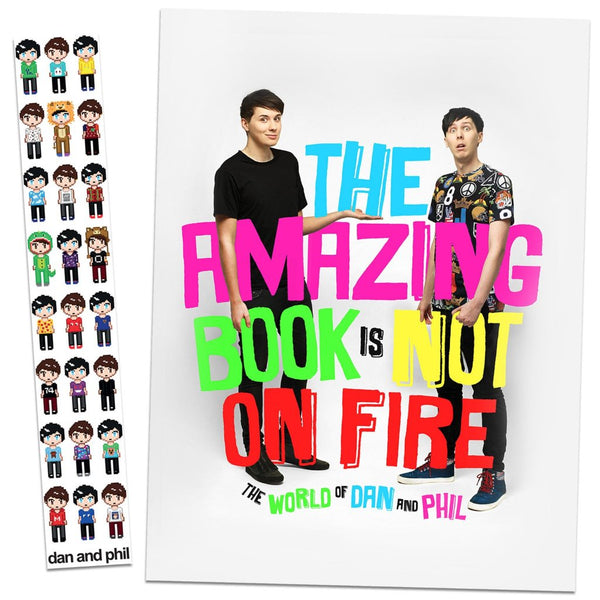 Dan and Phil Go Outside by YouTubers Dan Howell and Phil Lester (2016, Hardcover)