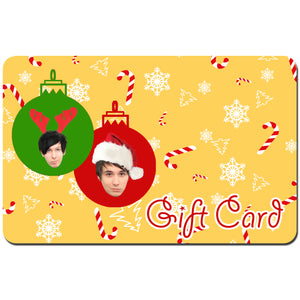 Dan and Phil Shop X-Mas Gift Card