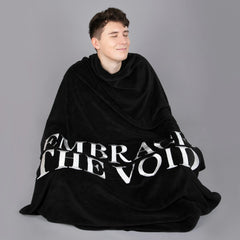 Embrace the Void Weighted Blanket