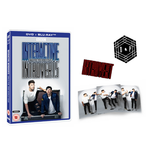 LIMITED VIP EDITION - Interactive Introverts DVD + Blu-Ray