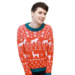 LIMITED Knitted Christmas Jumper + hand signed Christmas Card