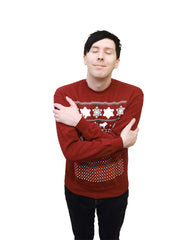 Xmas Sweater - Maroon