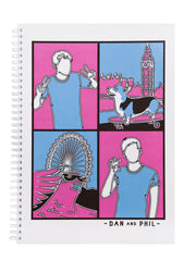 Dan and Phil London Notepad