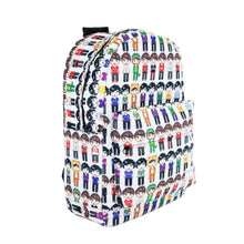 Load image into Gallery viewer, Pixel People Backpack (WITH SIGNED DOG PHOTO!)