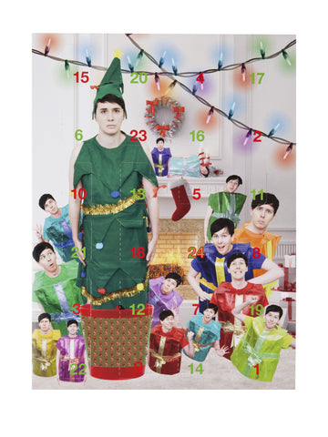 Dan and Phil Advent Calendar 2016
