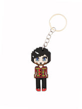 Load image into Gallery viewer, Dan and Phil Pixel Keyring
