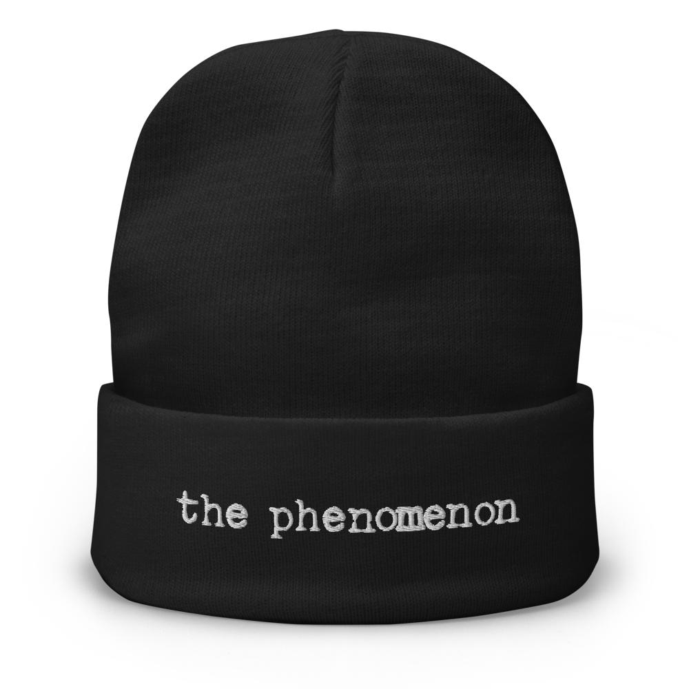 The Phenomenon Embroidered Beanie