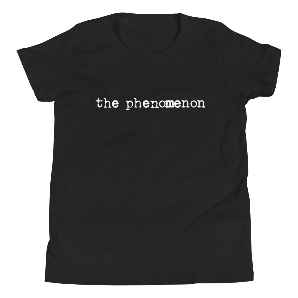The Phenomenon Kids T-Shirt in Classic Black