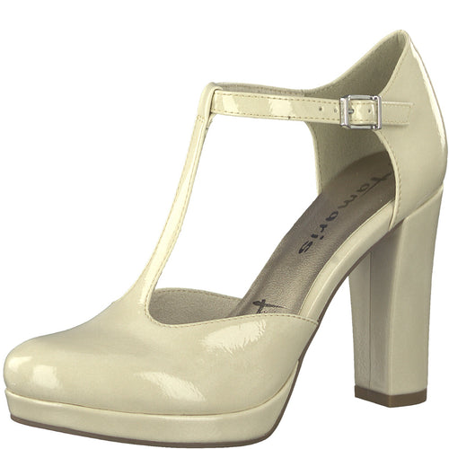 Tamaris Lack Pumps beige 1-1-24409-20/452